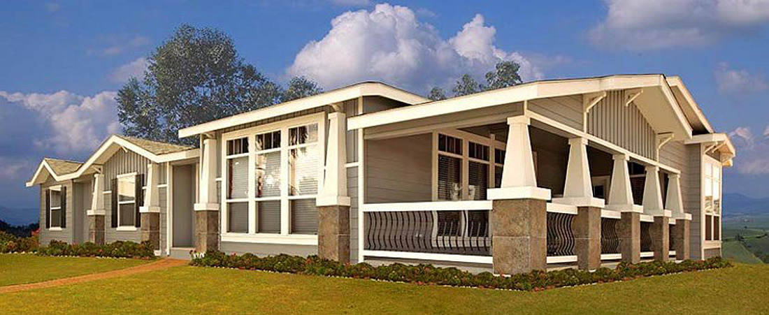 Central coast hybrid homes manufactured home for Least expensive prefab homes
